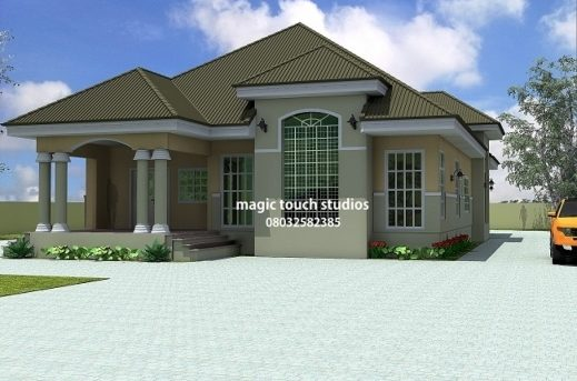 Outstanding 5 Bedroom Floor Plans 5 Bedroom Bungalow House Plan In Nigeria House Designs Floor Plans Nigeria Photos