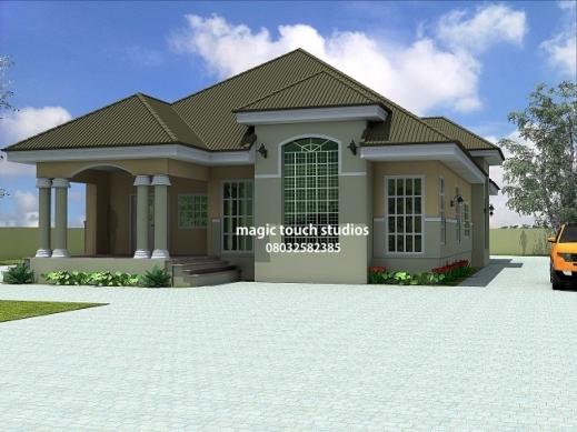 Outstanding 5 Bedroom Floor Plans 5 Bedroom Bungalow House Plan In Nigeria House Designs Floor Plans Nigeria Photos