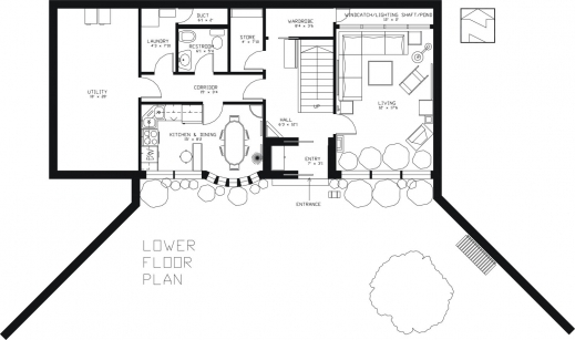 Outstanding Earth Sheltered Passive Home Plan Superb Plans In Building Ground Floor In Home Pic