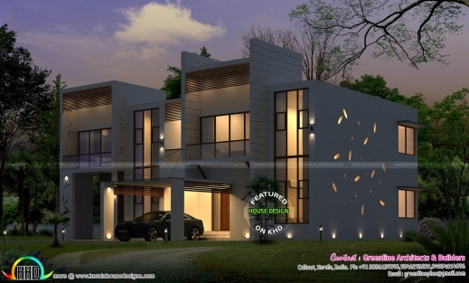 Outstanding Superb Modern Home Plan Kerala Home Design Bloglovin39 Superb Plans In Building Ground Floor In Home Pictures