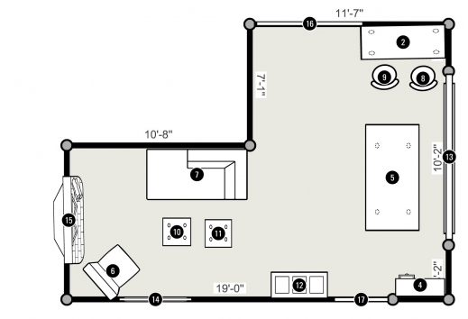 Remarkable 1 Room Home Plans 1 Room House Plans Photo