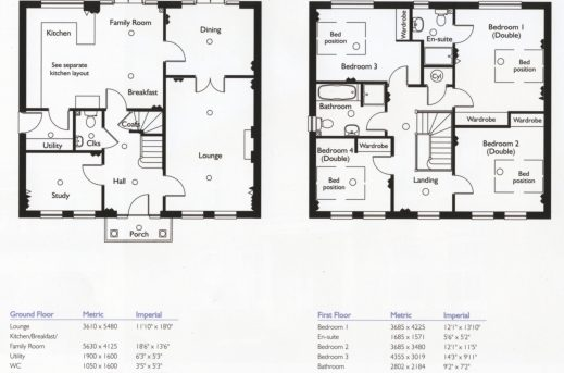 Remarkable 4 Bedroom House Floor Plans Home Design Ideas Four Bedroom House Floor Plans Image