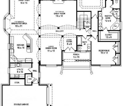 Remarkable Plan Number 07330 1000 Images About House Plan On Pinterest Open 3 Bedroom House Plans With Open Floor Plan Image