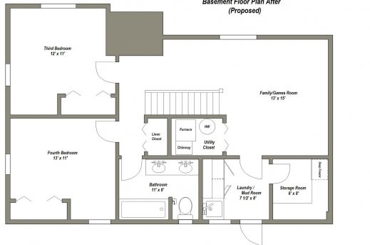 Stunning 1000 Ideas About Basement Floor Plans On Pinterest House Design House Basement Plans Pics