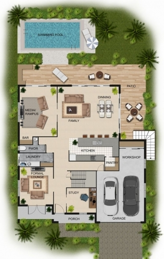 Stunning 1000 Images About Bigs Rooms On Pinterest Floor Plans Floors House Floor Plan In 2D Pictures