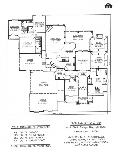 Stunning 1000 Images About House Designs On Pinterest House Plans Four Rooms House Plans Photos