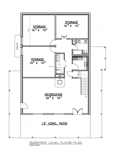 Stunning House Plans Walkout Basement Ranch Home Design And Decor Ideas House Basement Plans Photos