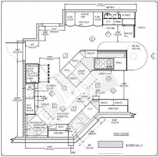 Autocad 2d House Plan House Plans