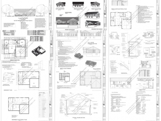 Stylish Ez House Plans Complete House Plan Pics