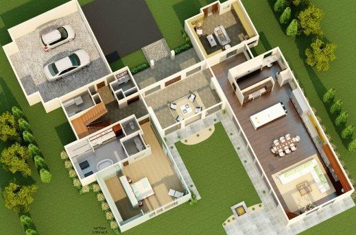 Stylish Floor Plan Dream House Interior Decorating Design Residental Dream House Floor Plan Photo