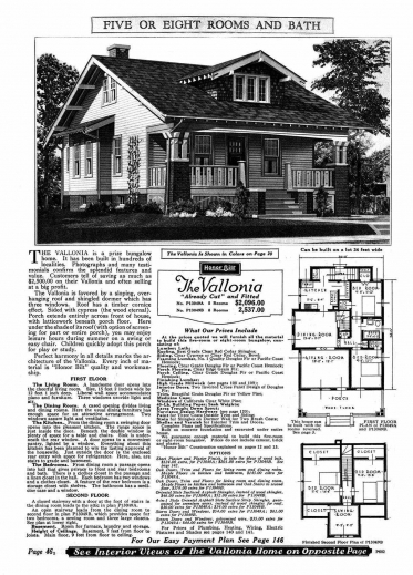 Stylish historic house plans craftsman arts bungalow for Bungalow floor plans historic