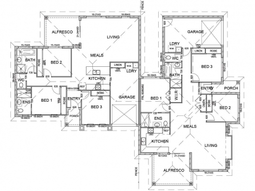 Stylish Modern Corner Lot Floor Plans Slyfelinos House Plans For Corner Houses Photos