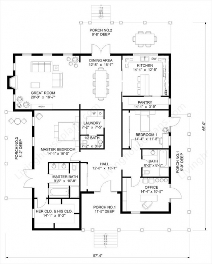 Best 2d house plans of 2016 house floor plans for Best house plans of 2016