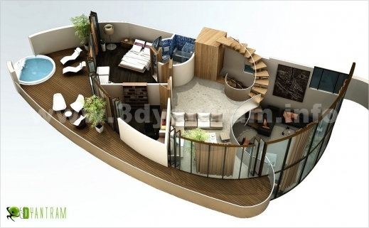 Wonderful 3d Floor Plan Design Interactive 3d Floor Plan Yantram Studio 3d House Plan Pictures