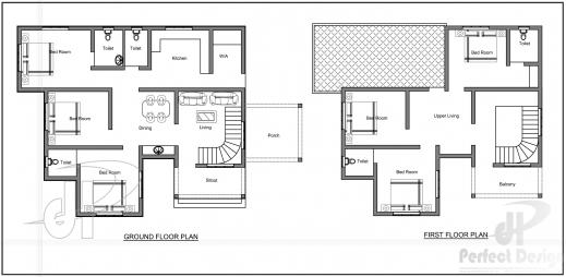 Wonderful 6bhk Double Floor Home Kerala Home Design 6 Bhk Mansion Floor Plans Image