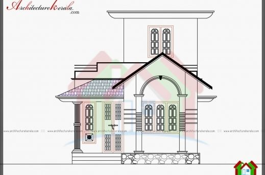 Wonderful 750 Sq Ft House Plan And Elevation Architecture Kerala Karala 750 House Plans Com Photo