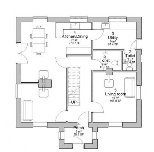 Plan house ground floor house floor plans for Ground floor house design