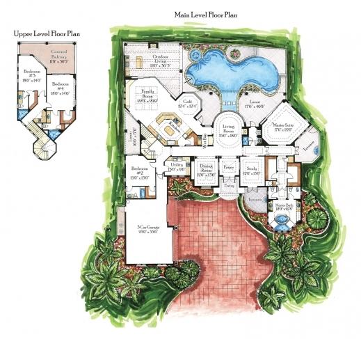 house plans arts custom luxury home floor plans image house floor