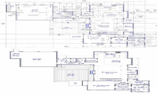 Wonderful Modern Single Story House Plans Floor Snowjetco Single Story Modern House Floor Plans Image