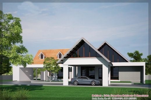 Wonderful Single Floor House Designs Kerala House Planner Single Floor House Plan And Elevation Kerala Picture