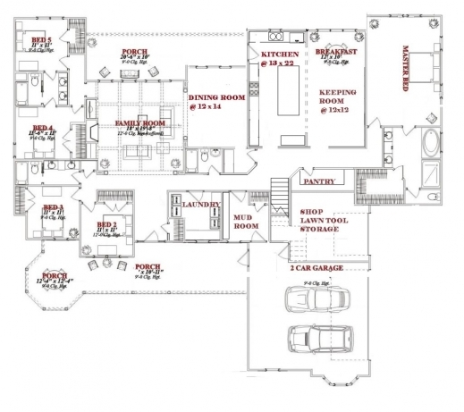 5 bedroom house plans with bonus room house floor plans for 4 bedroom floor plans with bonus room