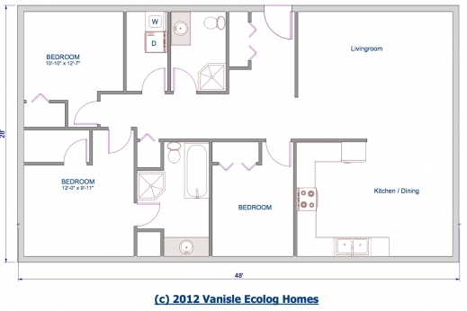 Amazing 3 Bedroom Bungalow Floor Plans Lcxzz One Room Bungalow Floor Plans Images Pics