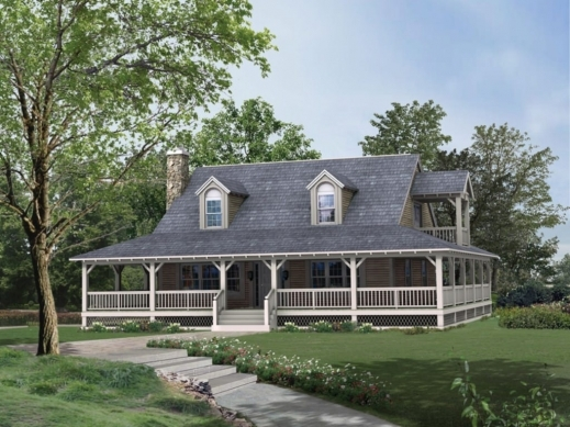 Amazing Ranch Style House Plans With Porches Planskill Small Farmhouse Plans With Porches Image
