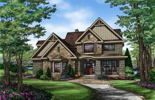 Amazing Top Cottage House Plans Amp Cottage Floor Plans Don Gardner European Cottage House Plans Photo