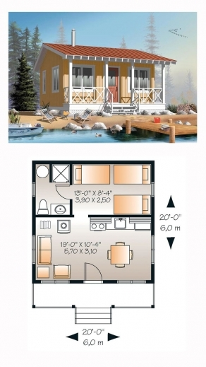 Awesome 17 Best Ideas About 1 Bedroom House Plans On Pinterest Guest One Bedroom House Plans Photos