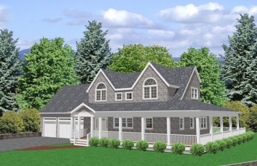 Awesome cape cod house plans floor don gardner with for Simple cape cod house plans