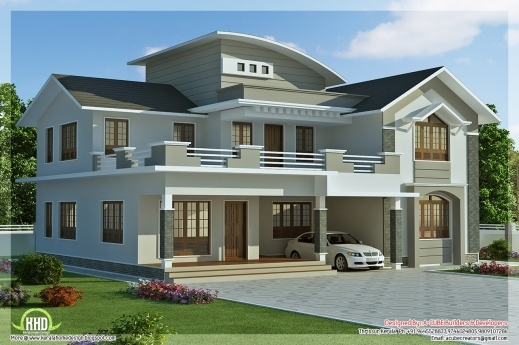 Awesome Fascinating House Villa Design And 4 Bedroom Houses For Rent Fascinating Kerala House Plan Images