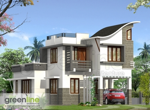 Awesome House Design Styles Fascinating 9 Kerala Style Traditional House Fascinating Kerala House Plan Image