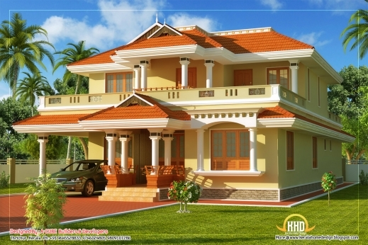 Awesome House Design Styles Fascinating 9 Kerala Style Traditional House Fascinating Kerala House Plan Images