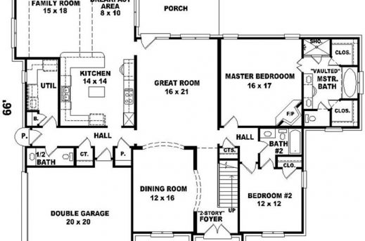 Big house floor plans 2 story house floor plans for Large two story house plans