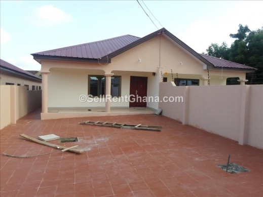 Fantastic 2 bedroom semi detached house plans ghana 3 for Modern house plans in ghana