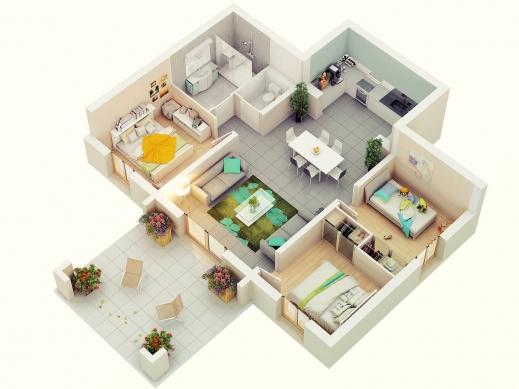 Best 3 Bedroom House Plans 3d Design Homilumi Floor Plan In Cypress 3d House Plan With 3 Bedrooms Pictures