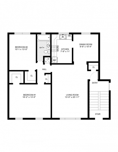 Best Simple House Floor Plans Simple House Floor Plan With Measurements Photo