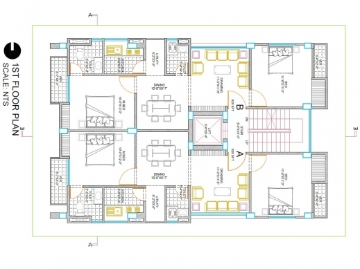 Delightful I Will Create Your Building 2d Floor Plan In Autocad Fiverr Gig Floorplan In Autocad 2d Picture