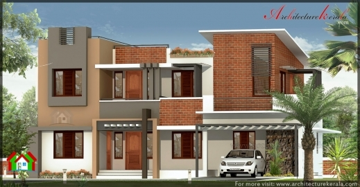Fantastic 2800 Square Feet Big House Elevation Architecture Kerala Kerala House Plan Elevation 2800 Pictures