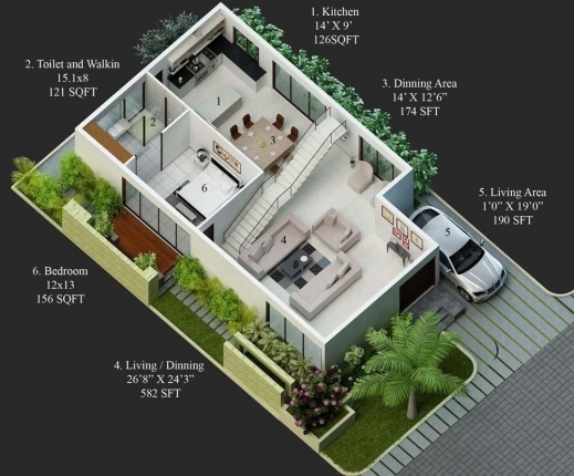 Fantastic 30 50 House Plans North Facing House Plan 30×50
