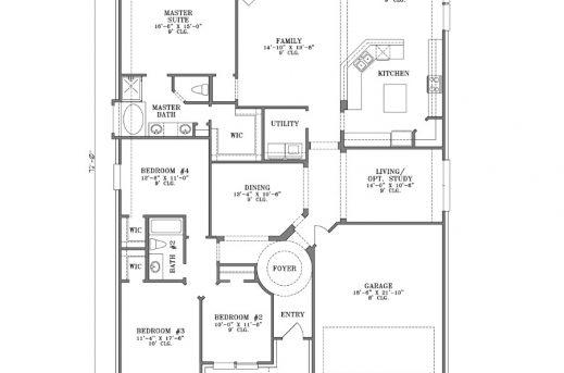Fantastic Homes Steel Kit Homes Floor Plans 4 Bedroom House Plans Kit Homes Single Storey Kit Home Floor Plan Photo