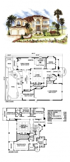 Fascinating 17 Best Ideas About Italian Houses On Pinterest Italian Villa Italy House Plan 3 Bed Room Picture