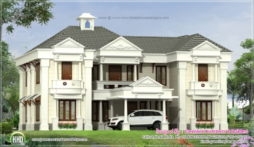 Fascinating 2800 Square Feet Home Exterior Kerala Home Design And Floor Plans Kerala House Plan Elevation 2800 Picture
