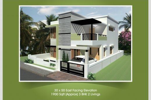 30 215 50 3 Bhk House Plan January 2020 House Floor Plans