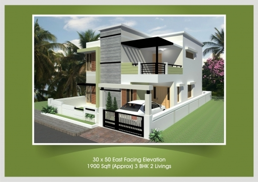 Awesome 40 x 30 house plans east facing 30 50 3 bhk house 30 by 30 house plans