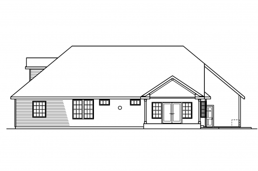 Fascinating Classic House Plans Remmington 30 460 Associated Designs A Complete House Plan With It Elevation Photo
