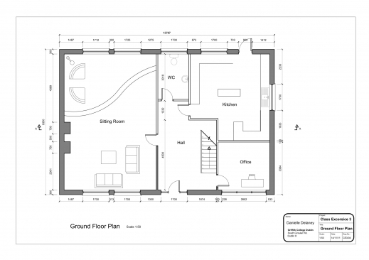 Fascinating Simple Floor Plans For Houses Lcxzz Simple House Floor Plan With Measurements Photo