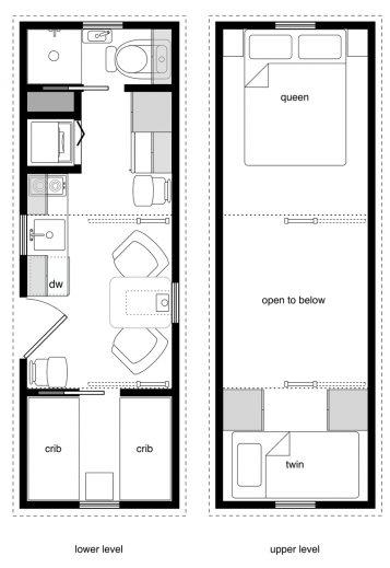 Incredible family tiny house design plans 8 x 20 felixooi for 10 x 20 cabin plans