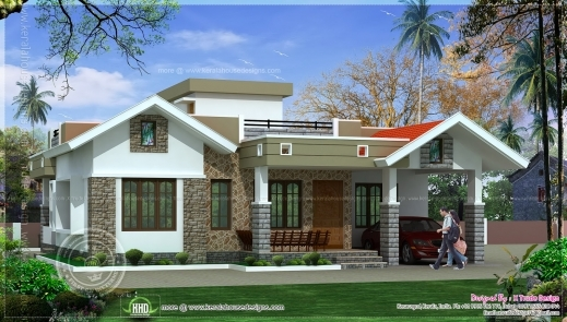 Gorgeous Bedroom Floor Kerala Style Home Design Indian House Plans Kerala Kerala House Plans Single Floor Pictures