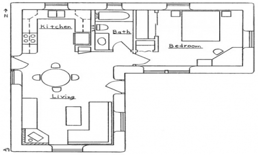 Gorgeous L Shaped House Plans With Attached Garage Room Designs Planskill L Design House Plans Photo